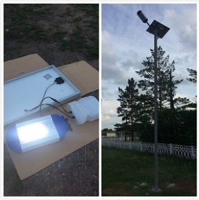 30W Solar Power Led Street Light-Kazakhstan Led Street Light Project