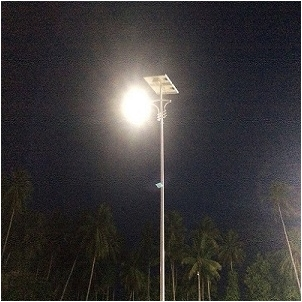 Solar Street light Project In Marshall Islands