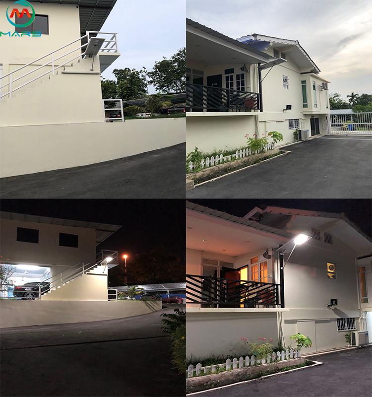 Integrated solar led street light In Brunei