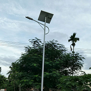 integrated solar street light china