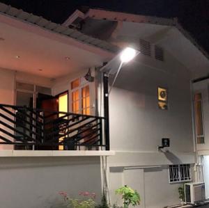 solar powered smart street lights