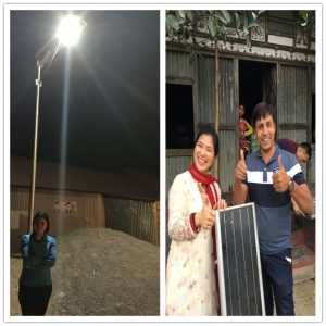 8 Wrong installations of solar light street lamp