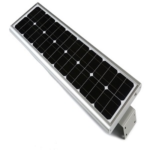 All in one solar led street light china 60W manufacturer