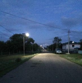 What is performance for solar street light with battery backup?