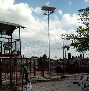 solar street lights led