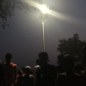 lighting led street light solar