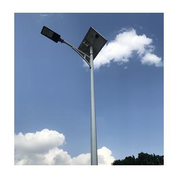 solar panel street light