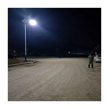 outdoor solar powered street lights