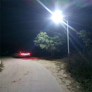 solar powered led street lighting system