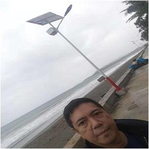 Smart solar led street light In Philippines