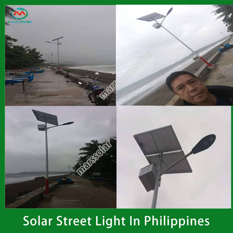Smart solar led street light