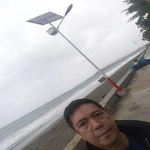 Smart solar led street light In Philippines
