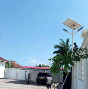 Introduction to several specifications of solar powered outdoor lights