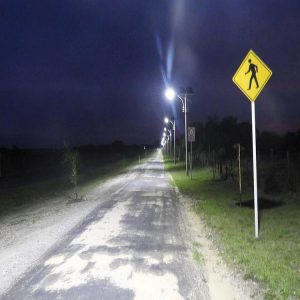 40W Solar Street Light Design In Uruguay