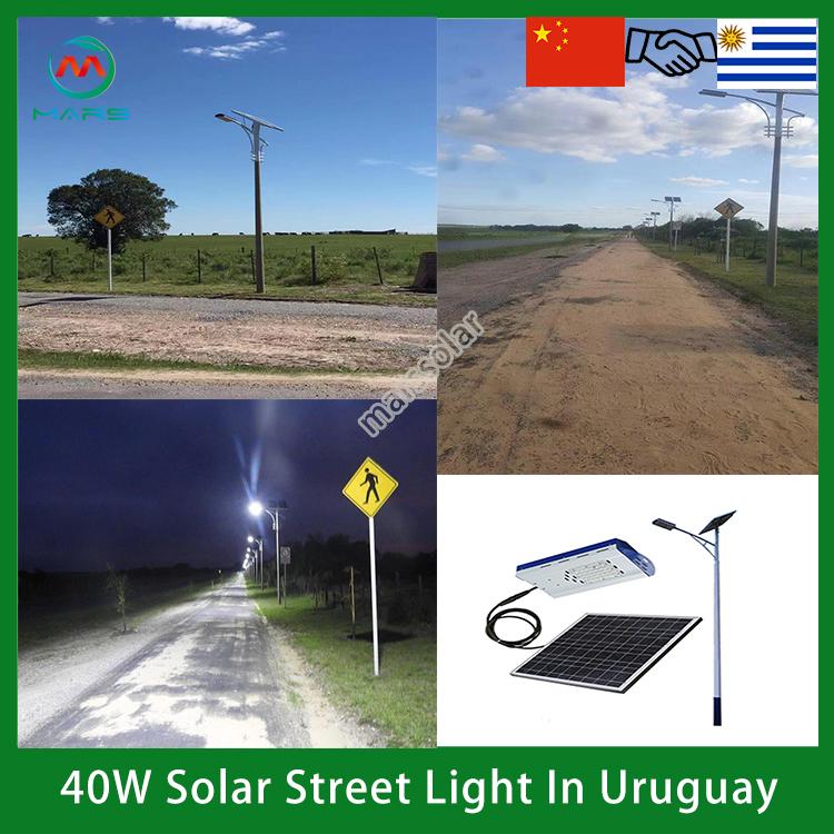 solar street light fixture
