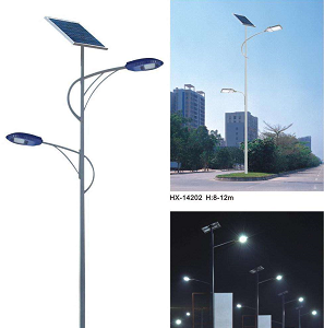 Two major shortcomings in the actual application of solar powered garden street lamps