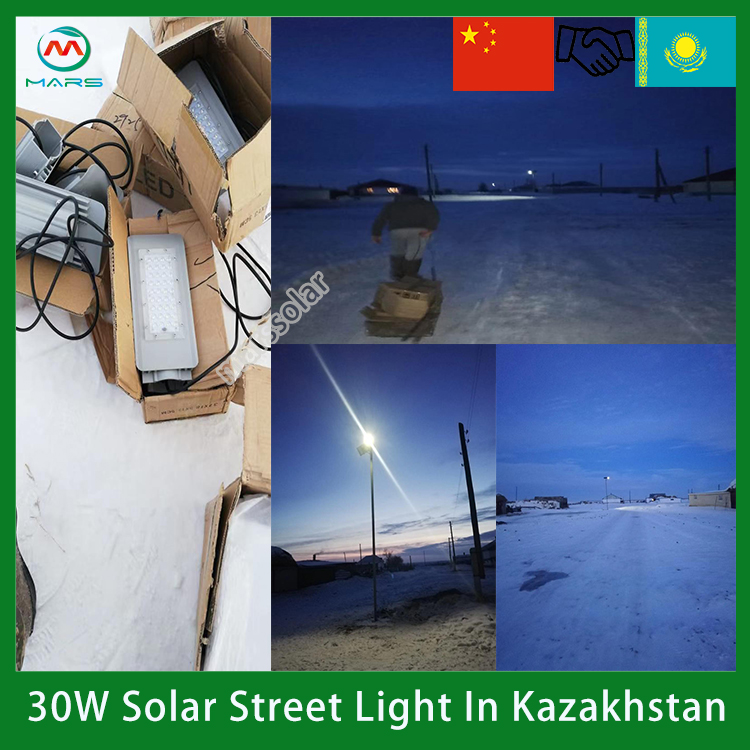 Tibetan University Students Develop Self-made Street Lamp Solar To Achieve 12-Hour Lighting