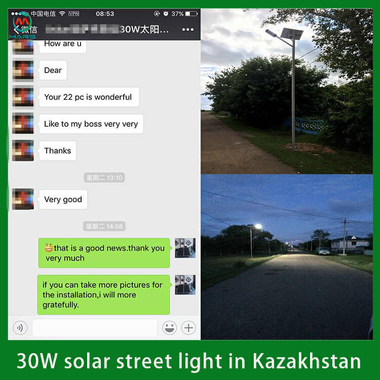 50W Price Solar Street Light Manufacturer