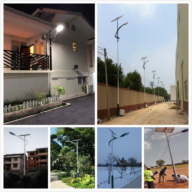 Stand Alone Solar Street Lighting System In Nigeria