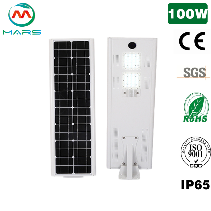 Solar Street Light Manufacturer 100W Outdoor Solar Street Lights