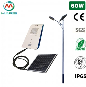 Solar Street Light Manufacturer 60W Solar Parking Lights Outdoor