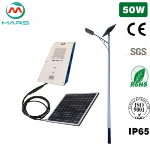 Do 50W Solar Street Light Have To Have Solar Energy To Light Up?