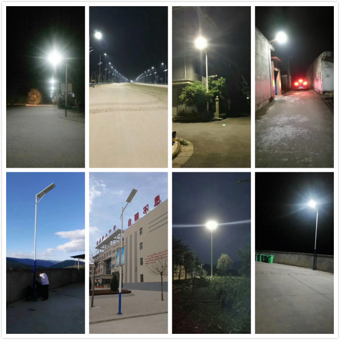 Solar Street Light Manufacturer 60W Solar Powered Lamp Post Light